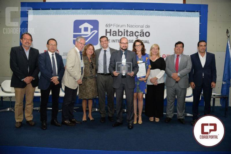 Programa de regularização fundiária da Cohapar recebe prêmio nacional de habitação