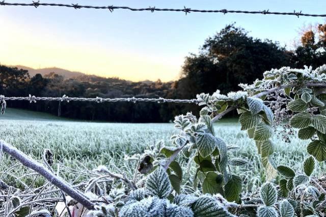 Mais 13 municípios batem recorde de temperaturas baixas neste ano no Paraná