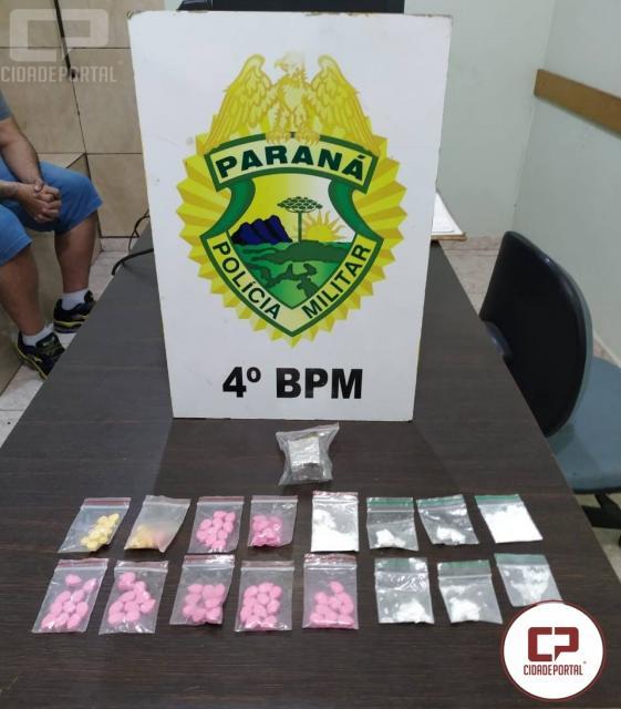 Polícia Militar prende mulher por tráfico de drogas em Maringá
