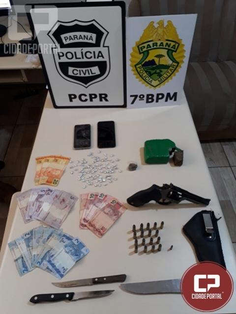 Polícia prende envolvidos em homicídios na cidade de Moreira Sales