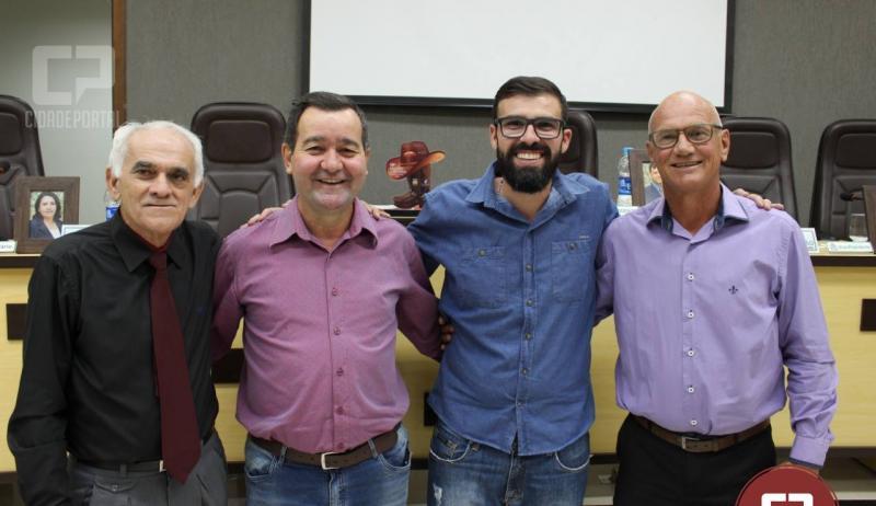Eleito por unanimidade, Vereador Tatuzinho é o novo presidente da Câmara Municipal de Moreira Sales