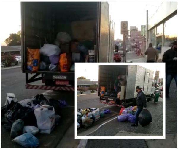 Campanha da Rede Massa encaminha um caminhão com doações para Ubiratã