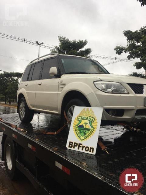 BPFRON recupera veículo roubado em 2017 durante cumprimento de ordem judicial