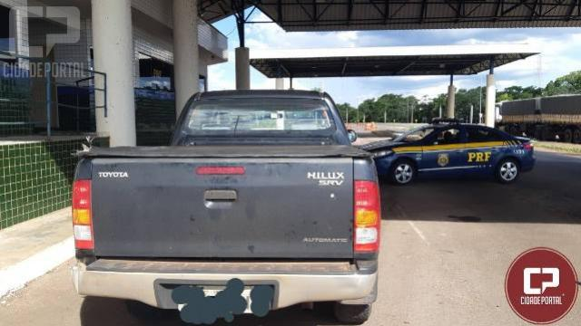 Após refém saltar de caminhonete em movimento, PRF prende sequestrador em Guaíra