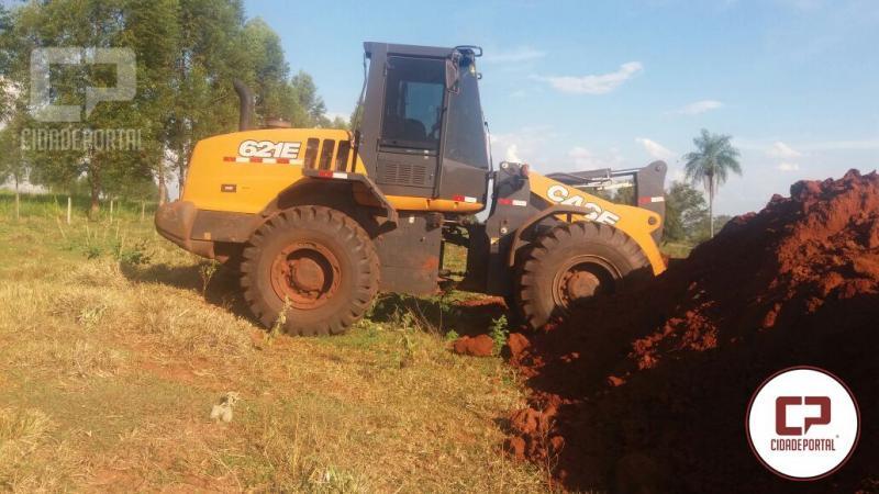 Polícia Ambiental de Umuarama apreende máquina utilizada em infração ambiental em Alto Paraíso