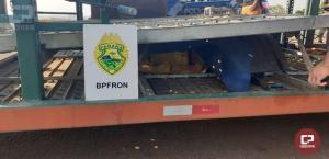 BPFron apreende grande quantidade de azeite de oliva e mercadorias contrabandeadas em Corbélia