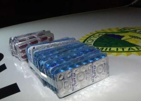 Idosa é presa com Viagra e medicamentos para emagrecer do Paraguai