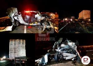 Polícia Rodoviária Federal atende grave acidente na BR-369 em Corbélia