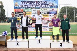 II Circuito de Corrida de rua Cidade das flores - IV etapa foi realizado dia 5 de agosto