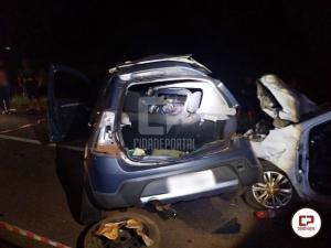Trágico acidente em Corbélia ceifa a vida de uma pessoa e deixa duas vítimas gravemente feridas