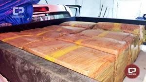 200 quilos de maconha que seguia de Goioerê para Rio de Janeiro foi apreendido na BR-465