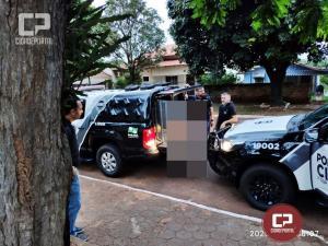 Polícia Civil prende dois indivíduos e procura mais dois envolvidos em um homicídio em Altônia