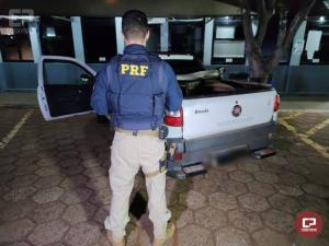 PRF apreende quase 500 kg de maconha durante Operação Tamoio II em Cascavel