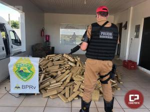 Polícia Rodoviária Estadual de Iporã apreende mais de uma tonelada de maconha