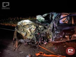 Uma pessoa morre e outra fica ferida em acidente no município de Corbélia