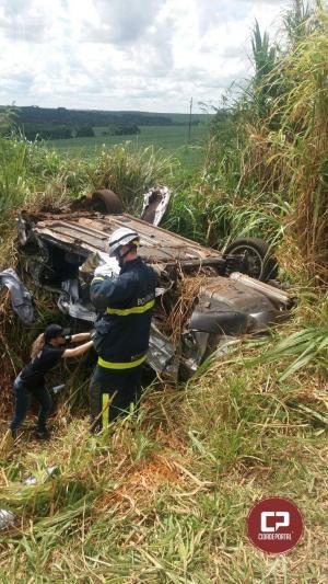 Criança perde a vida em grave colisão frontal na BR-369 em Corbélia nesta segunda-feira, 24