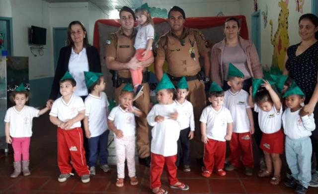 Policiais do 7° BPM são Homenageados pelo dia do Soldado em Guaporema