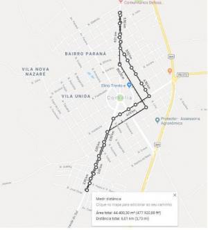 Circuito de Corrida de rua Cidade das Flores - III Etapa