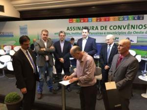 Consórcio Intermunicipal Piquiri assina convênio com a ITAIPU BINACIONAL para Tratamento Superficial Triplo em estradas rurais