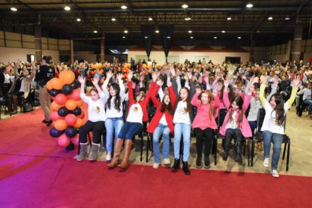 Formatura dos alunos do PROERD em Corbélia