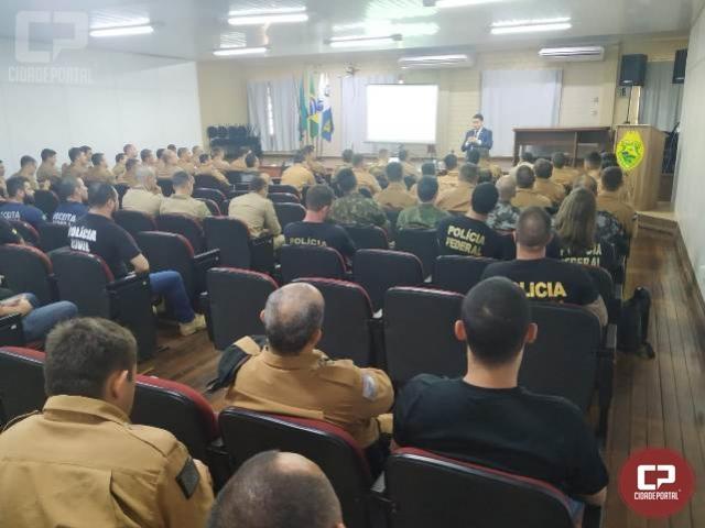 Curso de Unidades Especializadas de Fronteira-nível multiplicador tem início no BPFron