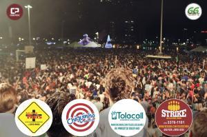Fotos: Com mais de 40 mil pessoas presentes no lago municipal, Toledo comemora 66 anos de emancipação