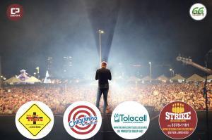 Show com Michel Teló - 66 anos do Aniversário de Toledo