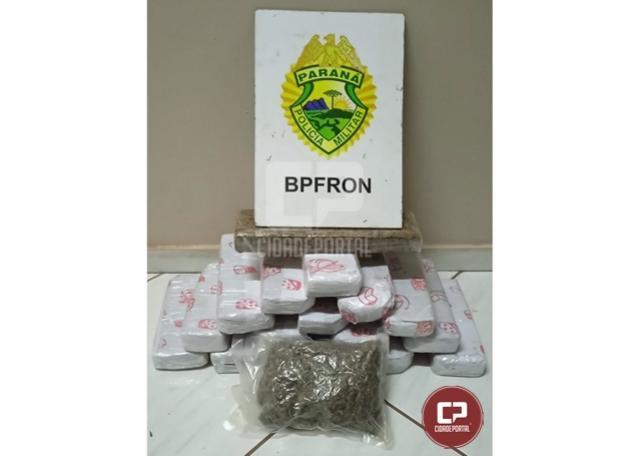 BPFron apreende drogas em ônibus durante Operação Hórus em Medianeira