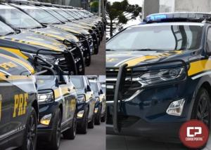 Entrega oficial de 26 novas viaturas blindadas em Curitiba