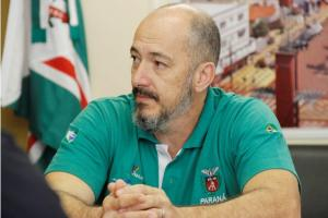 Equipe da Esporte Paraná vistoria espaços em Toledo