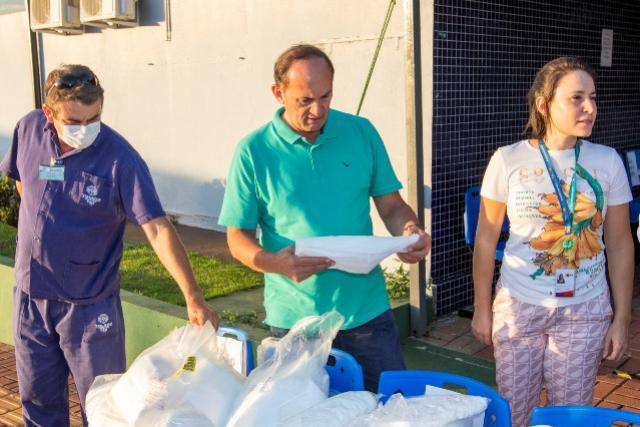 Empresa BRF doa equipamentos de uso hospitalar para o município de Toledo