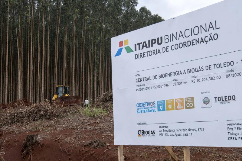 Obras da Central de Bioenergia a Biogás em Toledo estão previstas para Agosto