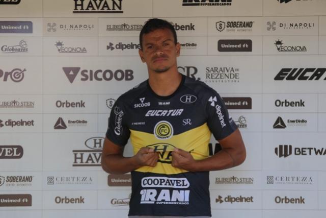 FC Cascavel anuncia contratação do centroavante Anderson Cavalo