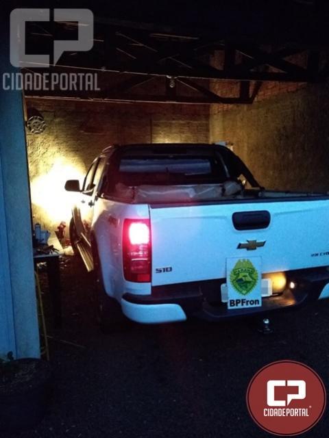 Dois indivíduos foram presos por contrabando em Nova Santa Rosa