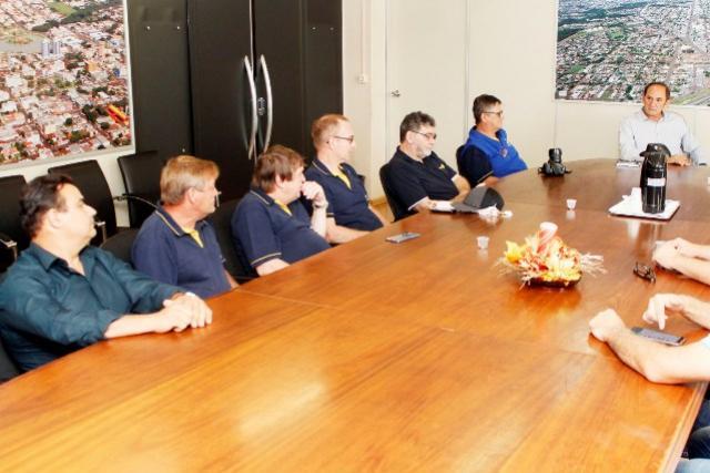 Prefeito recebe a Governadora do Rotary visita Toledo
