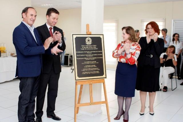 Fórum Trabalhista de Toledo inaugurada nova sede em terreno doado pelo município