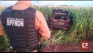 BPFron apreende veículo carregado com maconha e a skunk em Marechal Cândido Rondon-PR