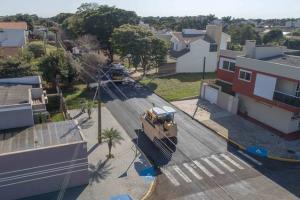 Sete ruas do BNH Barão, no Jardim Gisela em Toledo, recebem recapeamento