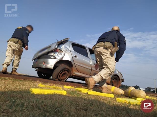 Após intenso acompanhamento tático, PRF apreende maconha e skunk em Toledo