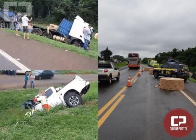 Homem morre após acidente com caminhonete em Céu Azul