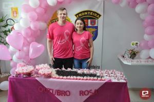 BPFron realizou café com a comunidade apoiando a campanha outubro rosa em Marechal Cândido Rondon