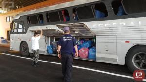 Receita Federal e BPFron retiveram cerca de R$ 1 milhão em mercadorias na cidade de Foz do Iguaçu