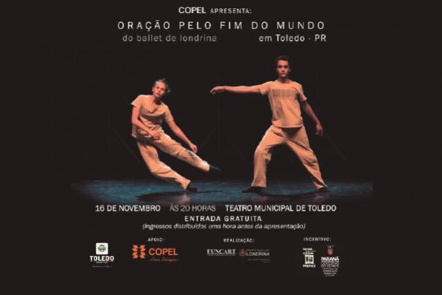 Espetáculo Oração pelo Fim do Mundo de Londrina chega a Toledo
