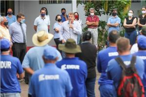 Reuniões com servidores marcam início das atividades no Pátio de Máquinas e Emdur