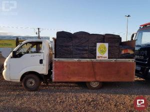 BPFron apreende caixas de cigarros contrabandeados na cidade de Entre Rios do Oeste/PR