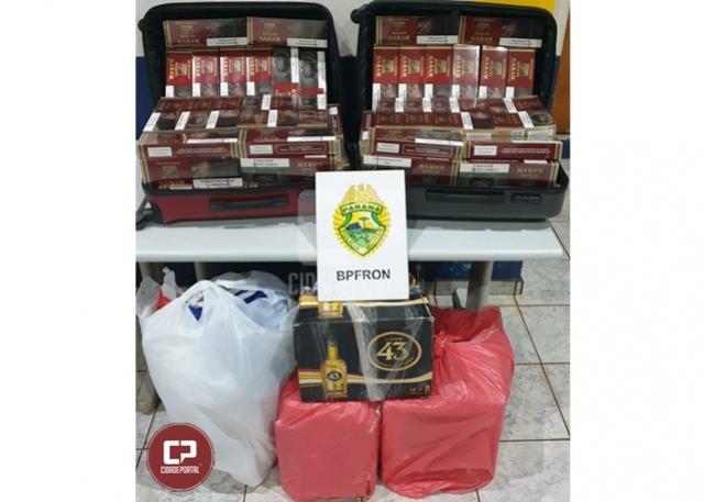 BPFron apreende cigarros contrabandeados em ônibus durante Operação Hórus em Cascavel