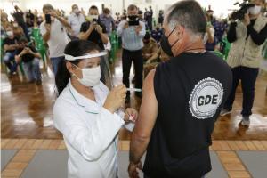 Iniciada a vacinação das forças de segurança conforme Plano Nacional contra a Covid-19