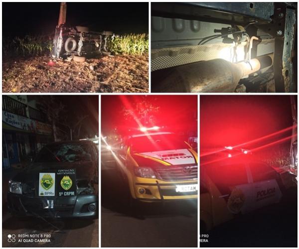 Após fuga com dispositivo de fumaça Polícia Militar Rodoviária recupera veículo com alerta de roubo