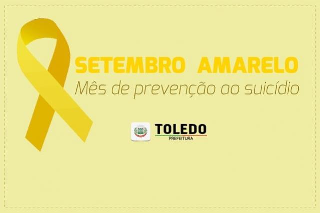Saúde mental fortalece ações durante o Setembro Amarelo em Toledo