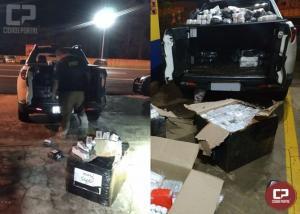 PRF apreende cerca de 4,5 mil medicamentos irregulares em Laranjeiras do Sul